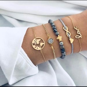 Jewelry - Set of 5 Braclets